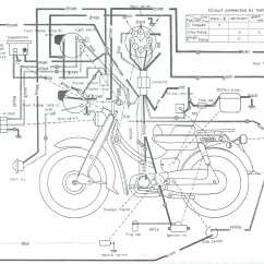 Wiring Diagram For Motorcycle Es 335 Yamaha Diagrams Engine And