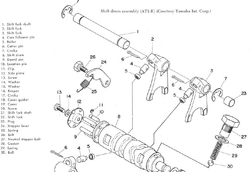 Yamaha Wiring Schematics & Carburetor Diagrams