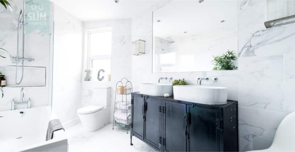Badkamer schoonhouden na gebruik
