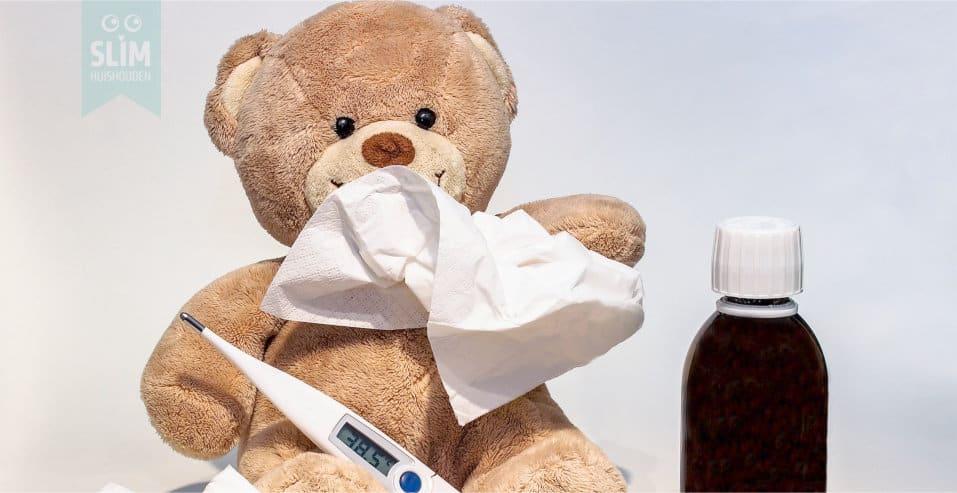 Een huishouden runnen als je ziek bent