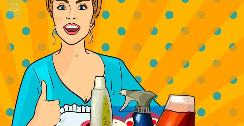De basis van het schoonmaken – De 4 elementen