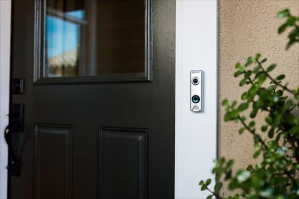 skybell Trim Alu, slimme deurbellen, deurbel met camera, wifi deurbel