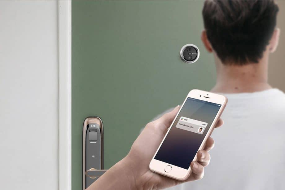 EZVIZ deurspion 1, Slimme deurbel, deurspion met camera,