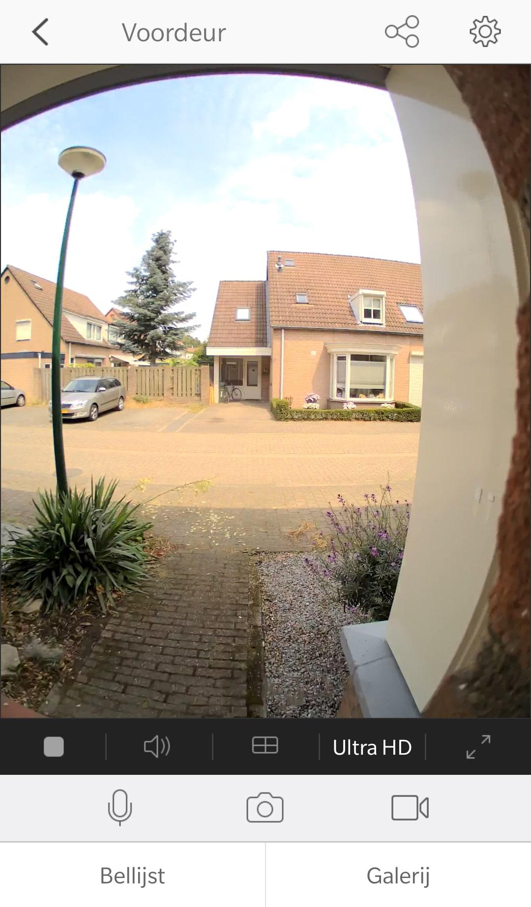 EZVIZ. fish eye, deurbel, slimme deurbel, wifi deurbel, deurbel met camera