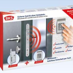 totaal pakket insteek slot, elektronisch slot, slimme deur slot