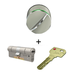 Danalock V3 met m&c cilinder, slim deurslot, smart lock