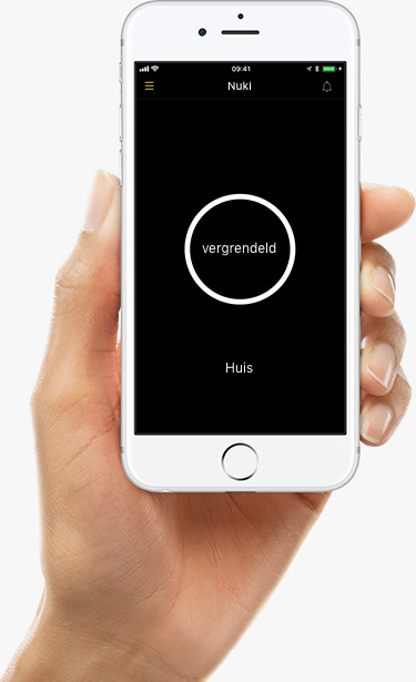 Nuki combi 2.0. Nuki 2.0, slim deurslot