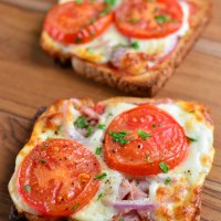 Syn Free Pizza Toasts