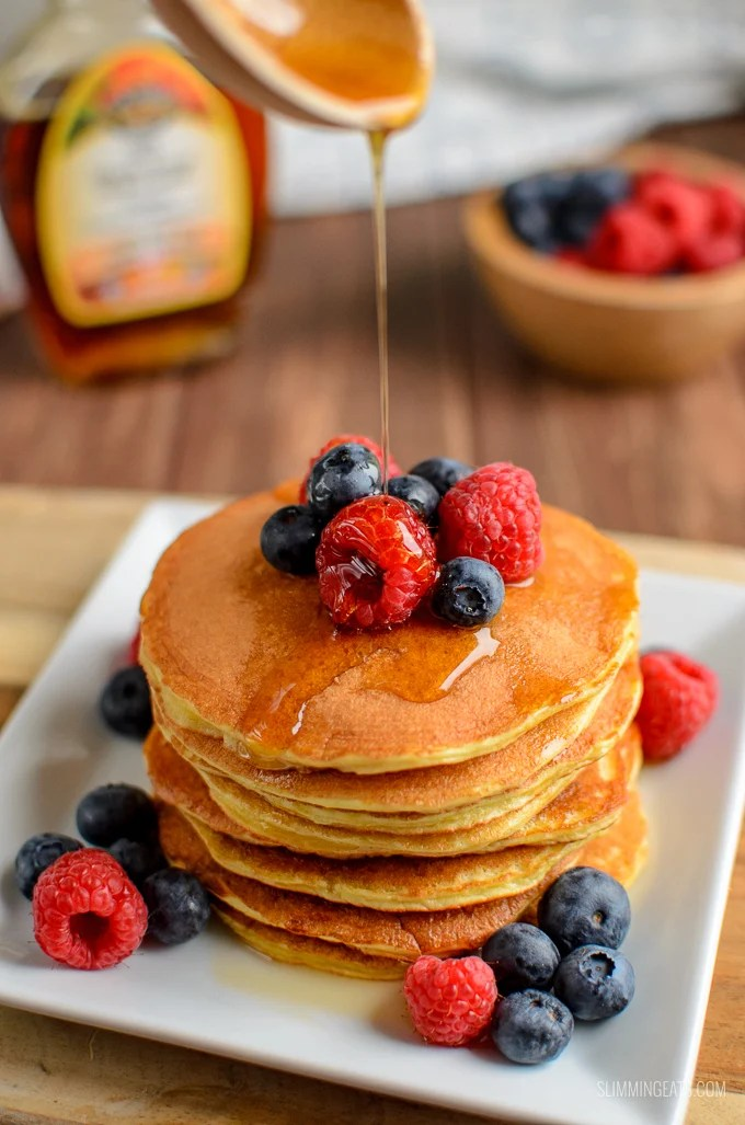 Syn Free American Style Pancakes Slimming World