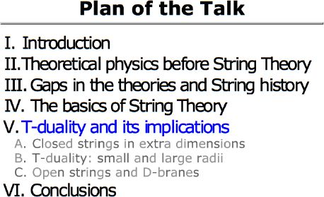 An Introduction to String Theory: T-Duality and its