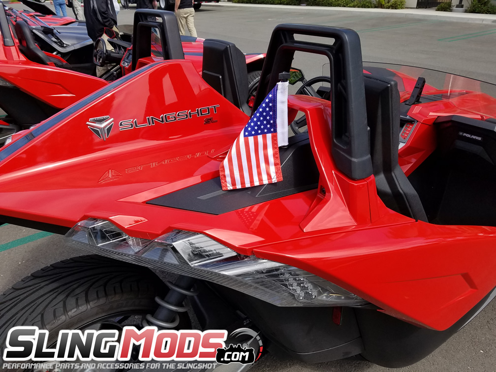 Polaris Slingshot 6 X 9 Flag Holder Kit