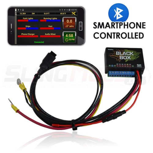small resolution of neutrino smartphone controlled accessory fuse block for the polaris slingshot