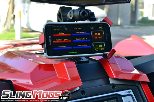 small resolution of  neutrino smartphone controlled accessory fuse block for the can am spyder