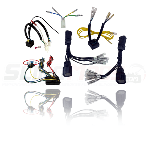 small resolution of electrical connection trailer hitch wiring harness for the polaris slingshot