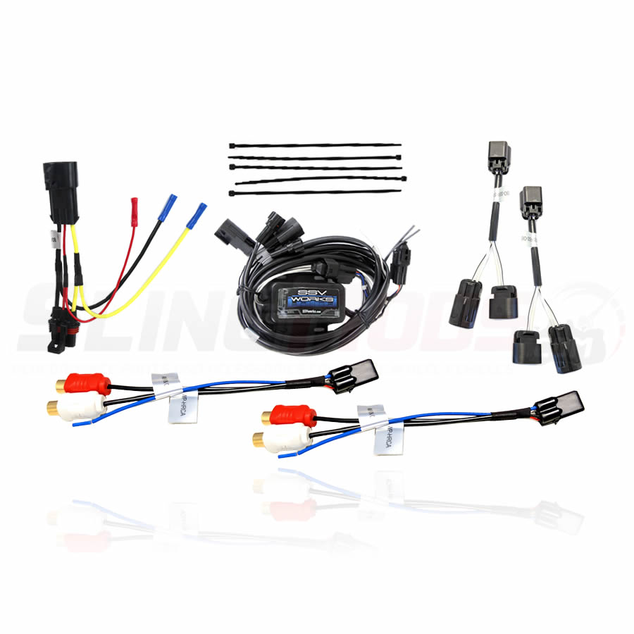 Add an Aftermarket Amplifier to the factory Polaris