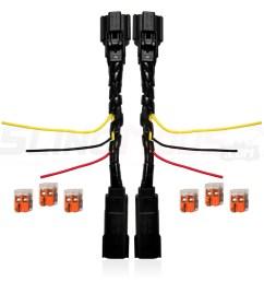 polaris slingshot plug n play blinker running light integration harness [ 900 x 900 Pixel ]