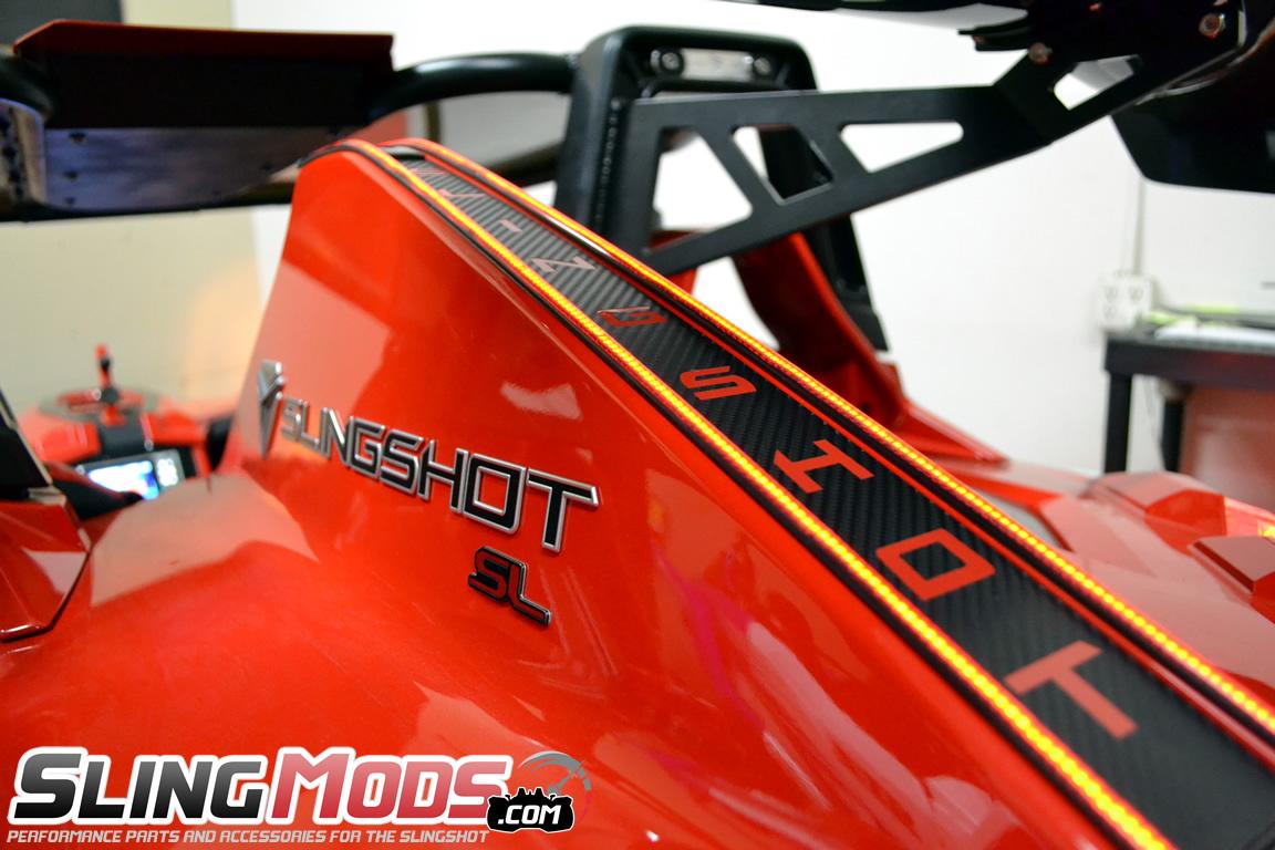 Polaris Slingshot LED Tail Fin Running  Brake Light