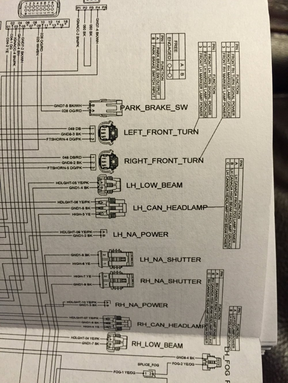 medium resolution of ktm 300 headlight wiring diagram