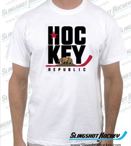 california-hockey-republic-white-tshirt