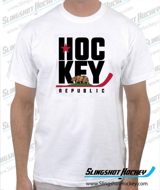 california-hockey-republic-white-tshirt