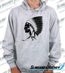 Springfield-Indians-AHL-1954-1967-heather-grey-hockey-hoodie