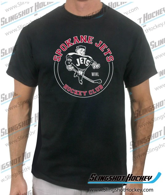 spokane-jets-black-mens-hockey-tshirt-sale