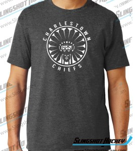 Charlestown-Chiefs-Warrior-charcoal-heather-grey-hockey-tshirt