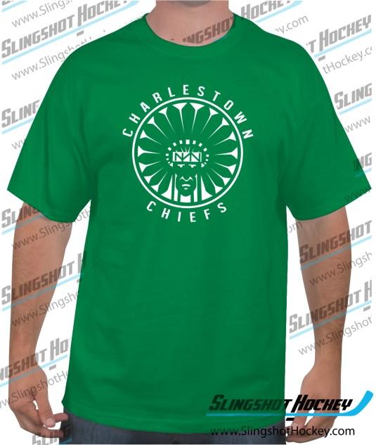 Charlestown-Chiefs-Warrior-slapshot-green-mens-hockey-tee