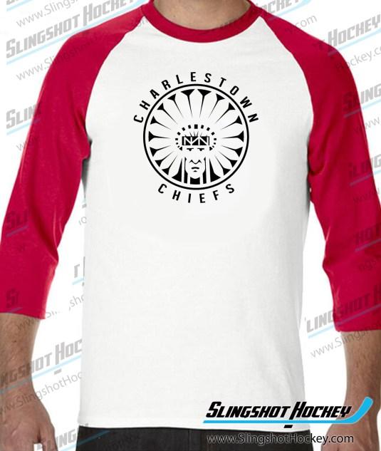 Charlestown-Chiefs-Warrior-slapshot-raglan-white-red-slingshot-hockey