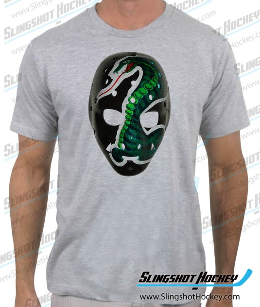 Gary-Simmons-California-Golden-Seals-Cobra-Mask-heathe-grey-mens-hockey-shirt