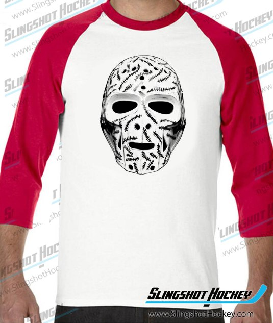 Gerry-Cheevers-Goalie-Mask-raglan-white-red-slingshot-hockey