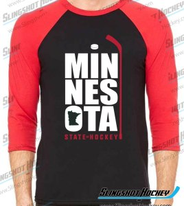 Minnesota-State-of-Hockey-raglan-black-red-slingshot-hockey