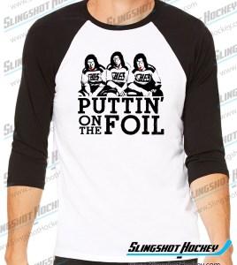 puttin-on-the-foil-hanson-brothers-slap-shot-raglan-black-white