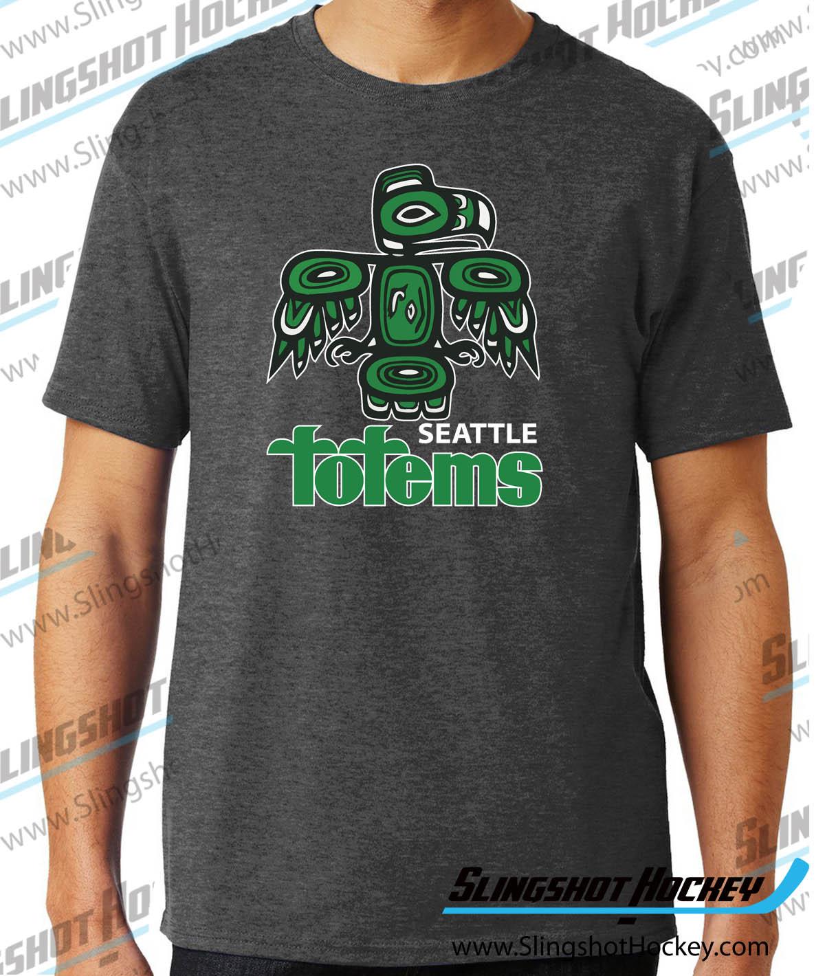 Order Now Seattle Totems Hockey Club T Shirt Slingshot Hockey