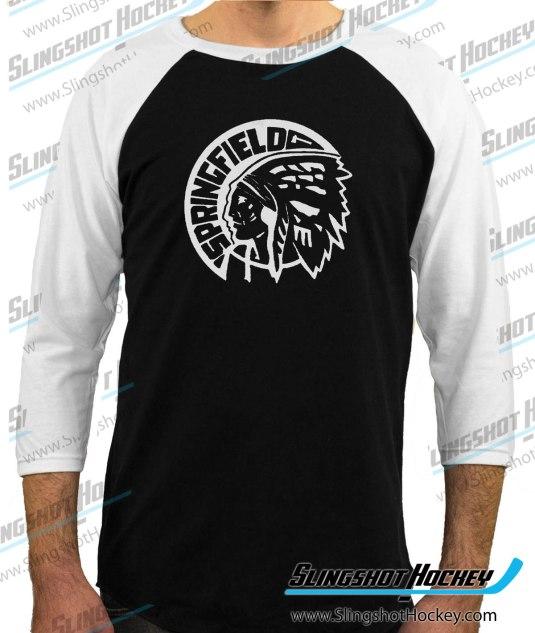 Springfield-Indians-raglan-white-sleeve-black-body