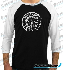 Springfield-Indians-raglan-white-sleeve-black-body