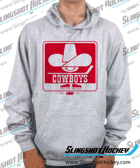 calgary-cowboys-heather-grey-hockey-hoodie