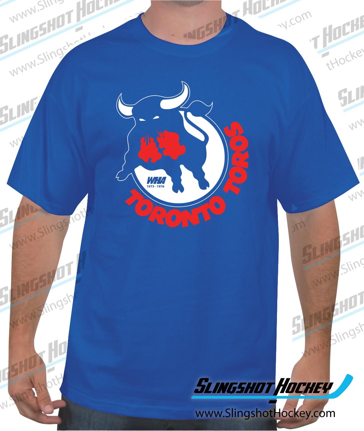 "cdfc988692 Toronto Toros. Shop now for your ""Toronto Toros"" WHA 1973 to 1976 hockey t- shirt."