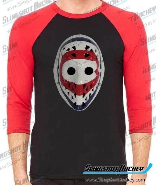 Ken-Dryden-Montreal-Goalie-Mask-raglan-black-red-slingshot-hockey