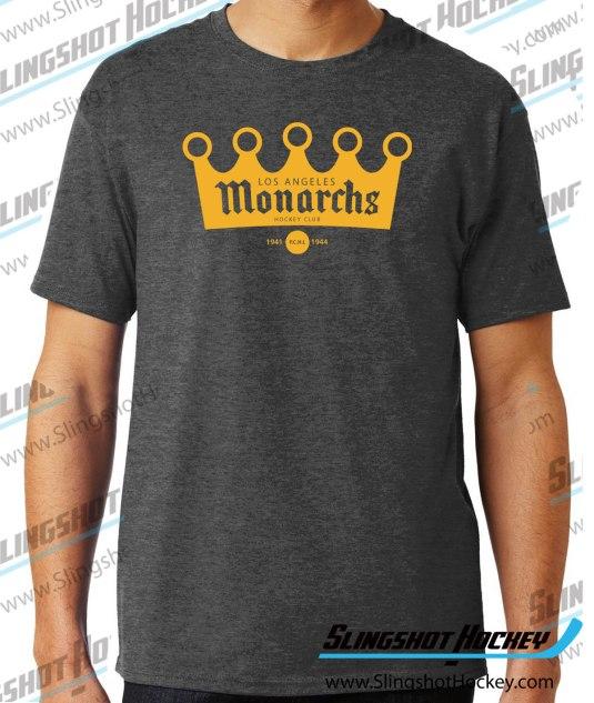 los-angeles-monarchs-charcoal-heather-hockey-shirt