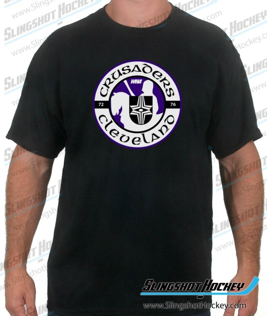 Cleveland-Crusaders-black-hockey-tshirt