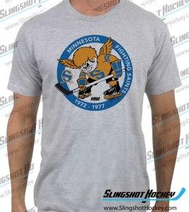 minnesota-fighting-saints-heather-grey-tshirt