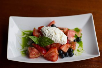 Strawberry Basil Ricotta Salad