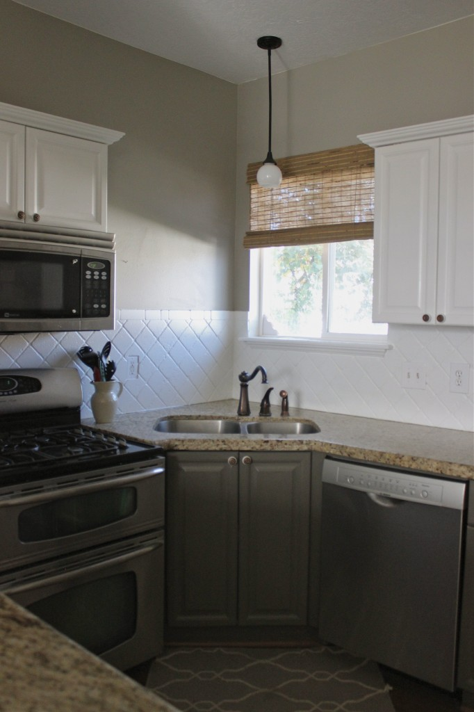kitchen refacing tables cheap painted cabinets and backsplash - slipcovers by ...