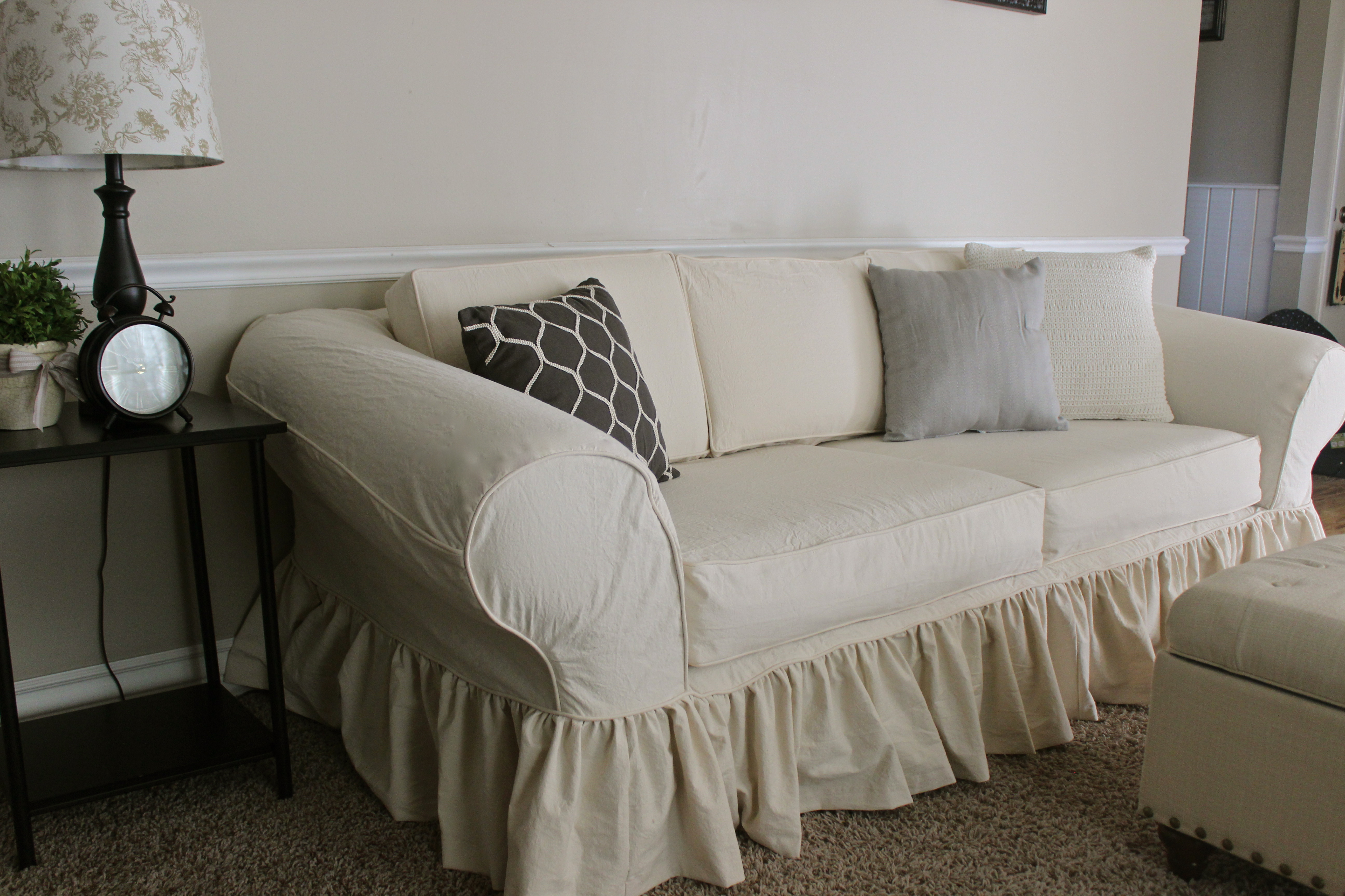 shabby chic slipcovers slipcovers by shelley. Black Bedroom Furniture Sets. Home Design Ideas