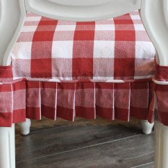 Buffalo Plaid Chair Outdoor High Red And White Check Slipcovers By Shelley