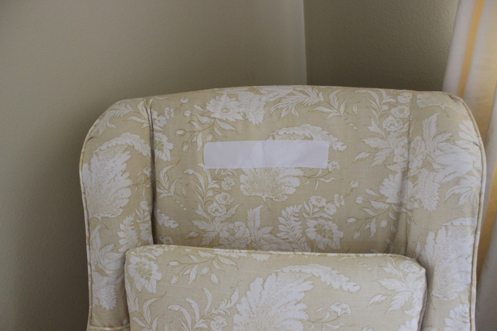 Slip Cover Chair