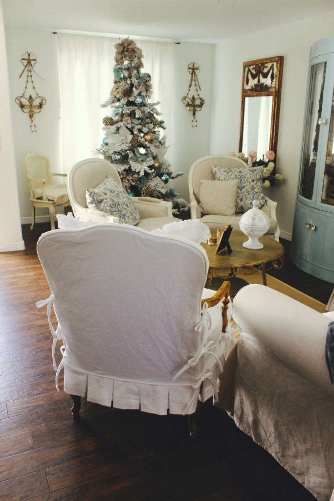 slipcovers for chair and a half with t cushion kitchen chairs sale wood armed - by shelley