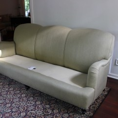English Roll Arm Sofa Sofas On Line Linen Rolled Couch Slipcovers By Shelley