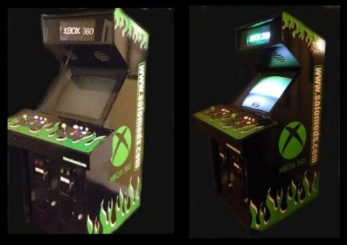 Xbox 360 Arcade Cabinet
